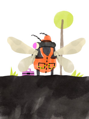 Beetle Goes to Work