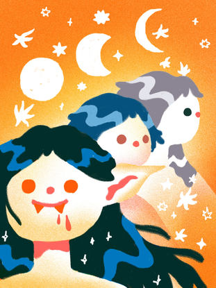 3 Vampire Moon