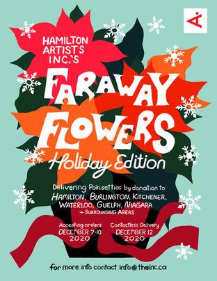 Faraway Flowers Poster