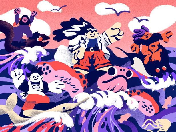 Women Saving the Ocean