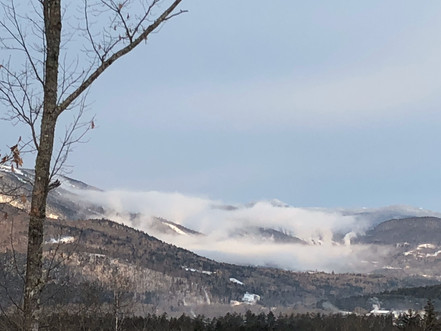 The clouds hovering over Sunday River