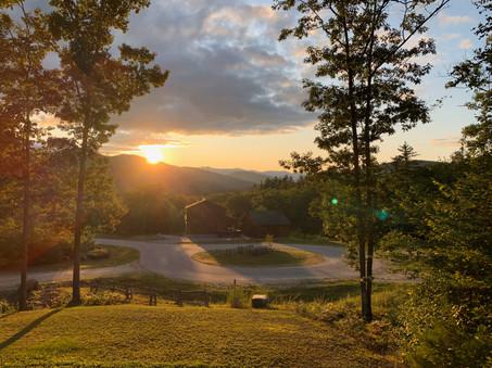 Sunset Vista sunsetting