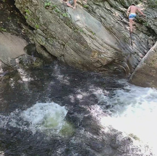 Go cliff diving at Frenchman's hole!