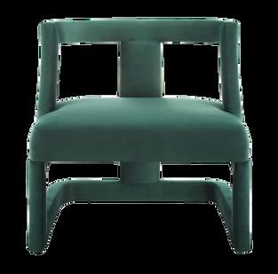 Twiggy Chairs: Evergreen Velvet