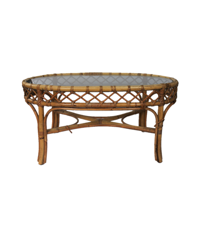 Rattan Oval Table