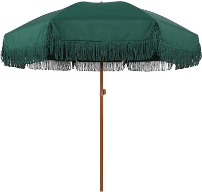 Fancy Green Umbrella