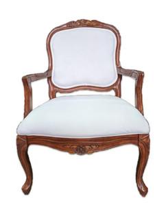 Carrie Chairs: Cloud White Velvet