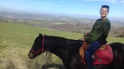 Balade à cheval à Campagne sur Arize