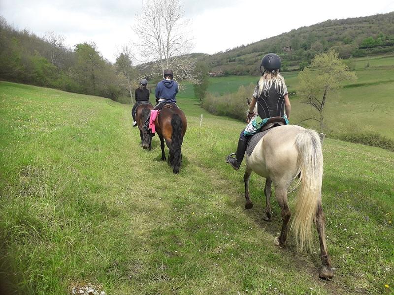 Randonnée à cheval au Mas d'Azil
