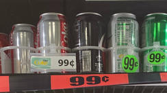 99 cent Cans