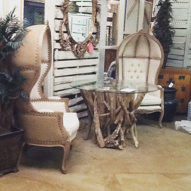 Luxurious chairs that are to die for @mollywoodimports @hgtv