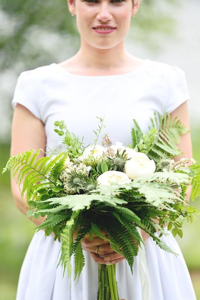 plantárium | Lesní svatební kytice