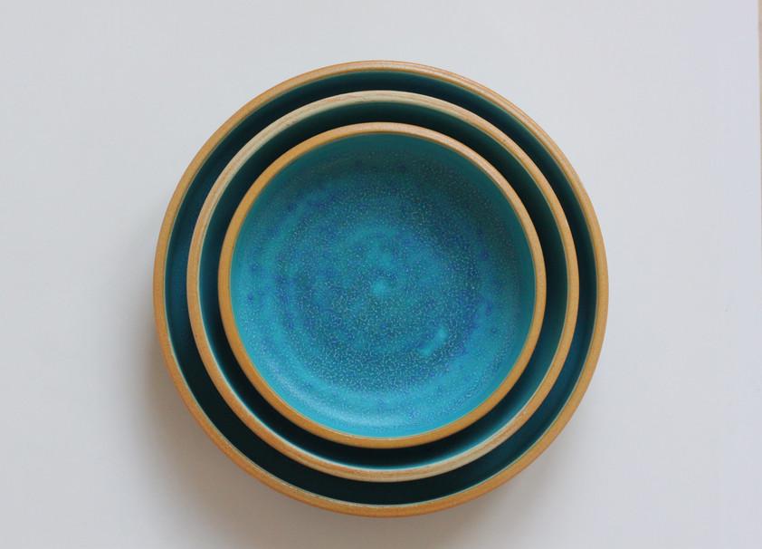 NAJS. | Tyrkysové talíře