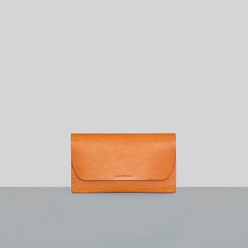 Leather Utilities – Peněženka se stiskacím knoflíkem / LU 12