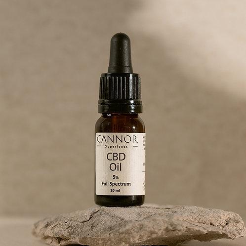 Cannor – Konopný olej 5% CBD Konopný olej