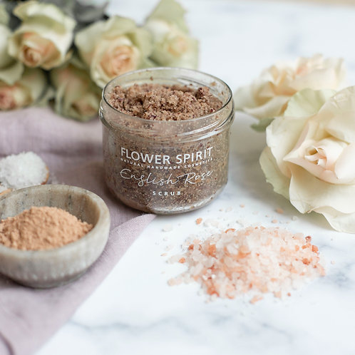 Flower Spirit – English Rose Scrub