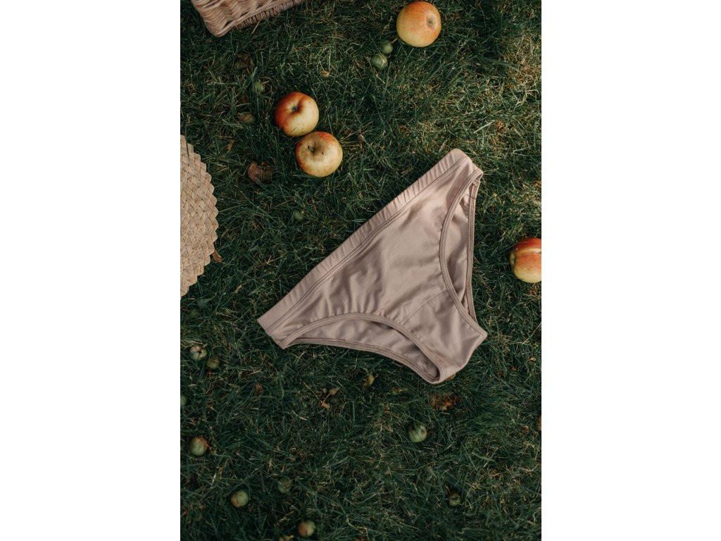 LNK RULES   Tencel cream kalhotky