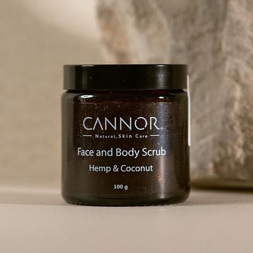 Cannor – Peeling na obličej a tělo