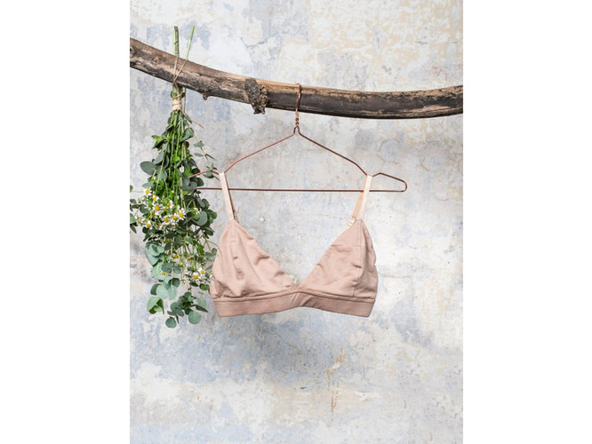 LNK RULES | Tencel Triangle bralette