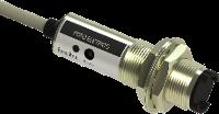 Sensor foto elétrico difuso G12mm Invólucro Metálico