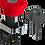 Thumbnail: Botão de comando tipo cogumelho emergência vermelha 1NF com trava,  22m