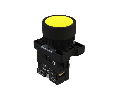 Botão de comando plástico 22mm