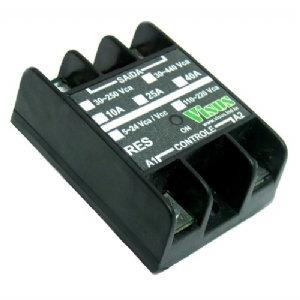 Relé estado sólido encapsulado IP66 fixação em chapa ou dep.
