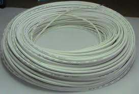 Cabo de silicone para temperatura de 300º com fibra