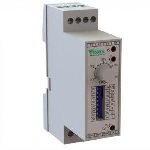 Temporizado Universal trilho dim 24 a 240VCC/Vca