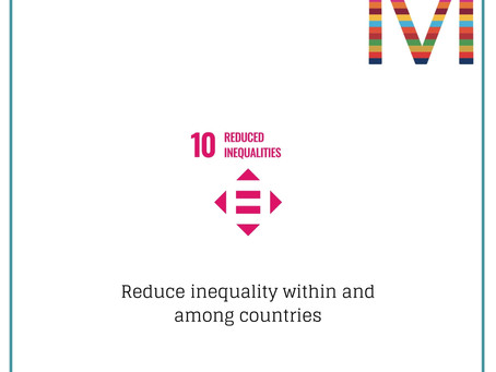 SDG10 Reduced inequalities