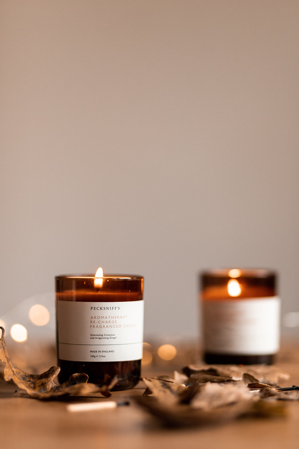 sustainable candle