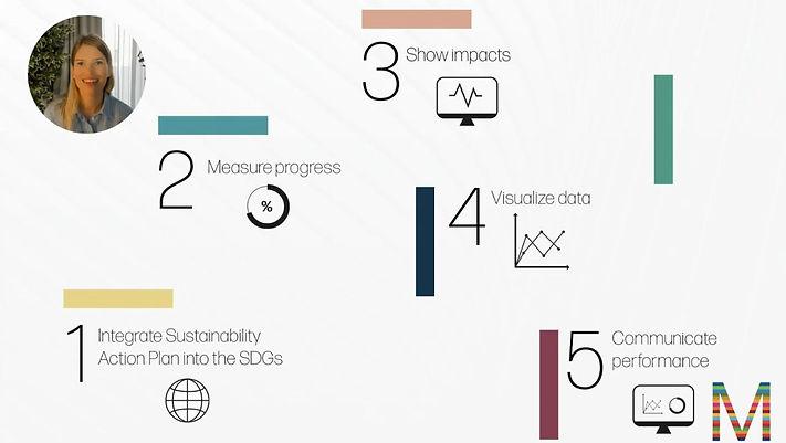 SDG Monitor framework - 5 steps