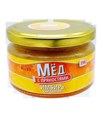 """Медовый десерт """"Мед с пряностями"""" ИМБИРЬ"""