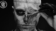 Portrait | Rick Genest aka Rico the Zombie - Embrace Everything That Is Different