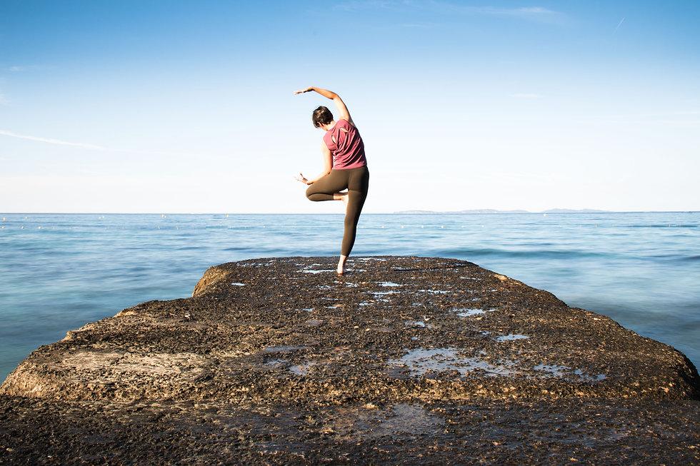 Yoga teacher home page