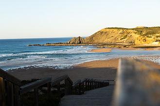 Amoreira beach Algarve Portugal