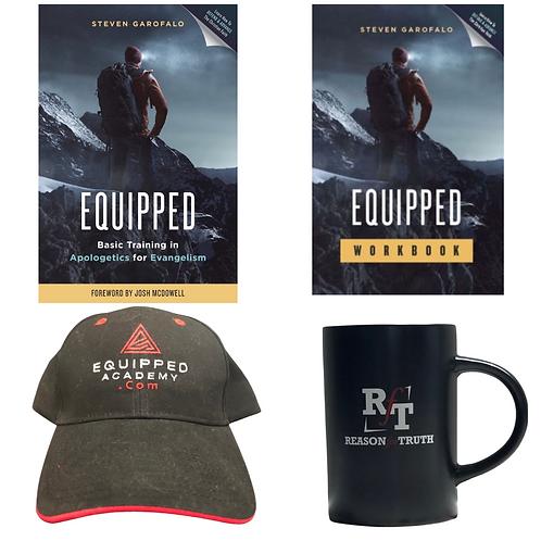 Leadership (Q-10) Bundle 10-EQUIPPED+10-Workbooks+1 Hat+1 Coffee Mug)