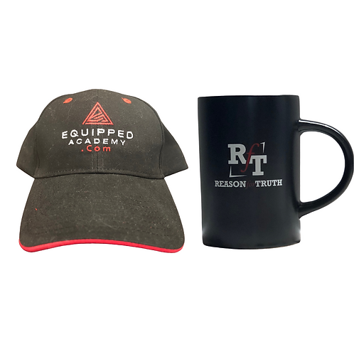 EQUIPPED Academy Cap + Reason For Truth Coffee Mug