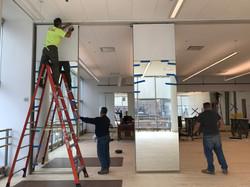 AA 6th floor studio panel install-03