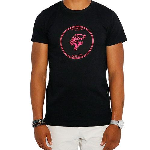 Asiam Panther T-Shirt Schwarz
