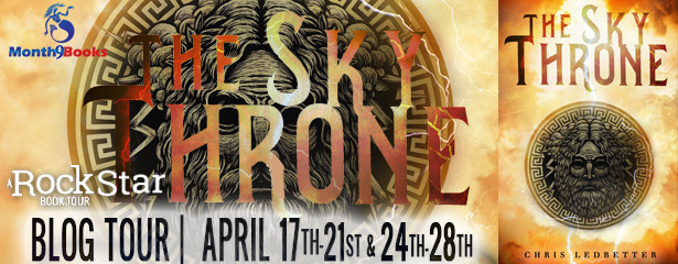 Rock Star Book Tours Presents THE SKY THRONE By Chris Ledbetter