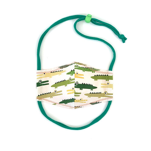 Kids Gators Fitted Face Mask
