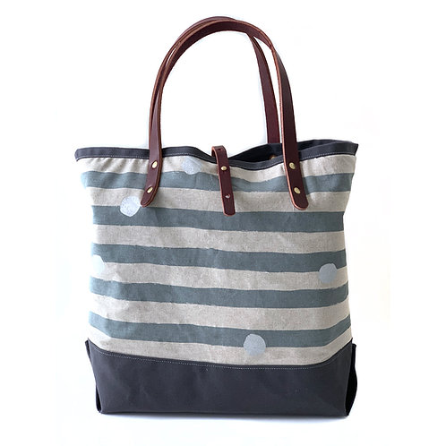 Lines and Dots Tote