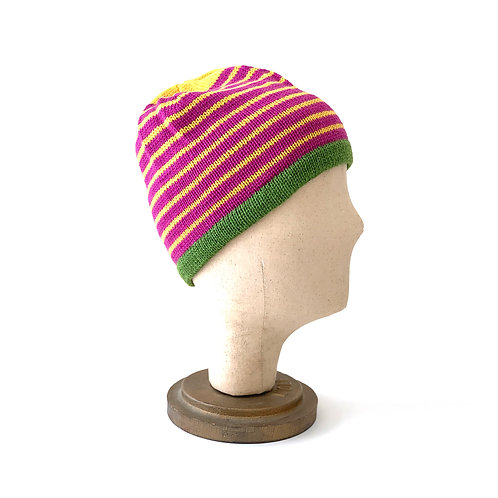 Spring Will Come Striped Hat