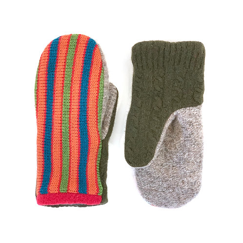 Revere and Ventura Striped Mittens