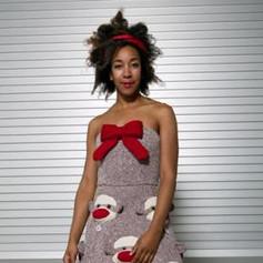 Sock Monkey Prom Dress, 2006