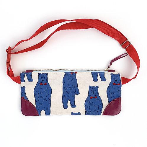 Dapper Bears Belt Bag
