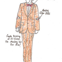 Concept illustration for Monkey Suit, 2007