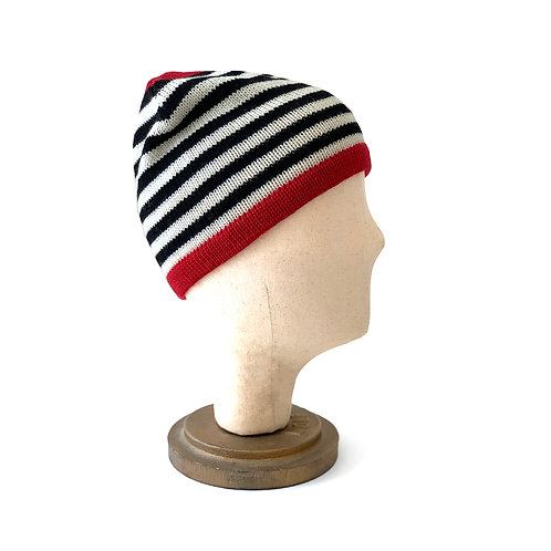 High Contrast Striped Hat