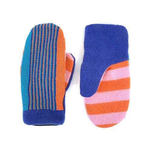 Damocles Dock Striped Mittens